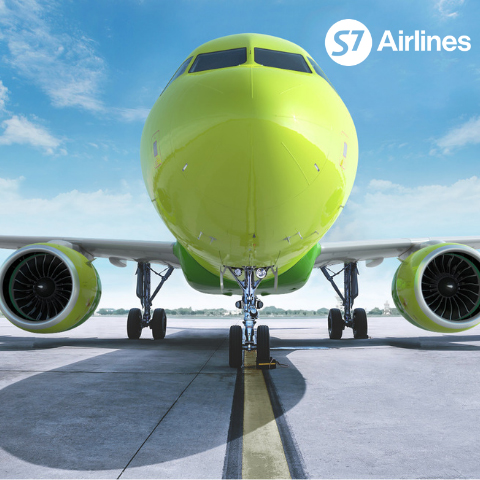 S7 Airlines Tie-Up Campaign