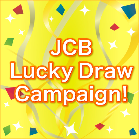 JCB Lucky Draw Campaign!