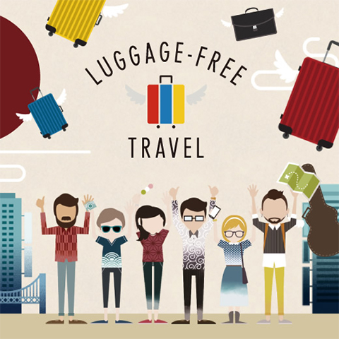LUGGAGE-FREE TRAVEL in Japan Discount Campaign