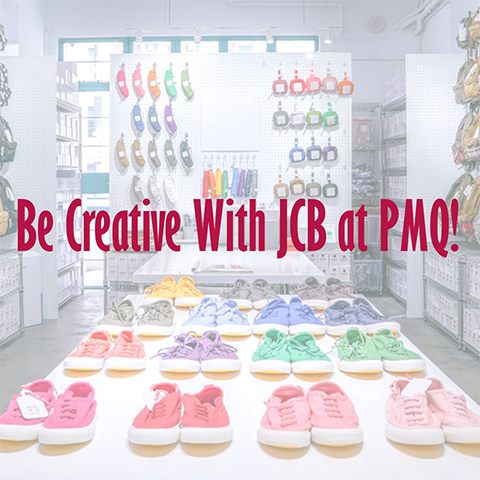 Be creative with JCB at PMQ!