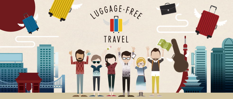 LUGGAGE-FREE TRAVEL in Japan 10% Off Campaign