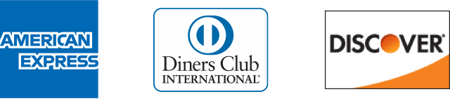 AMERICAN EXPRESS Diners Club DISCOVER