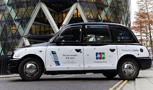 JCB partners with iZettle and the iconic London Black Taxis
